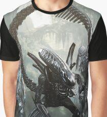 alien versus predator versus marines Graphic T-Shirt