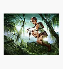 Tomb Raider - 20th Anniversary Tribute Photographic Print