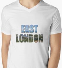East London Men's V-Neck T-Shirt