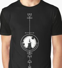 Candle Moon Graphic T-Shirt