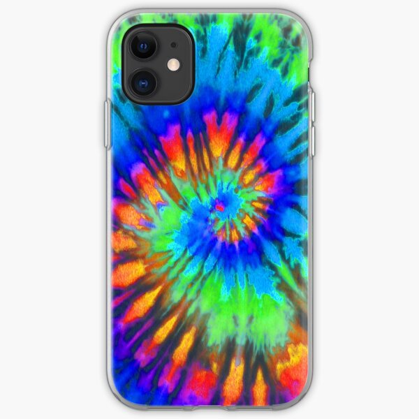Tie Dye 7 iPhone Soft Case