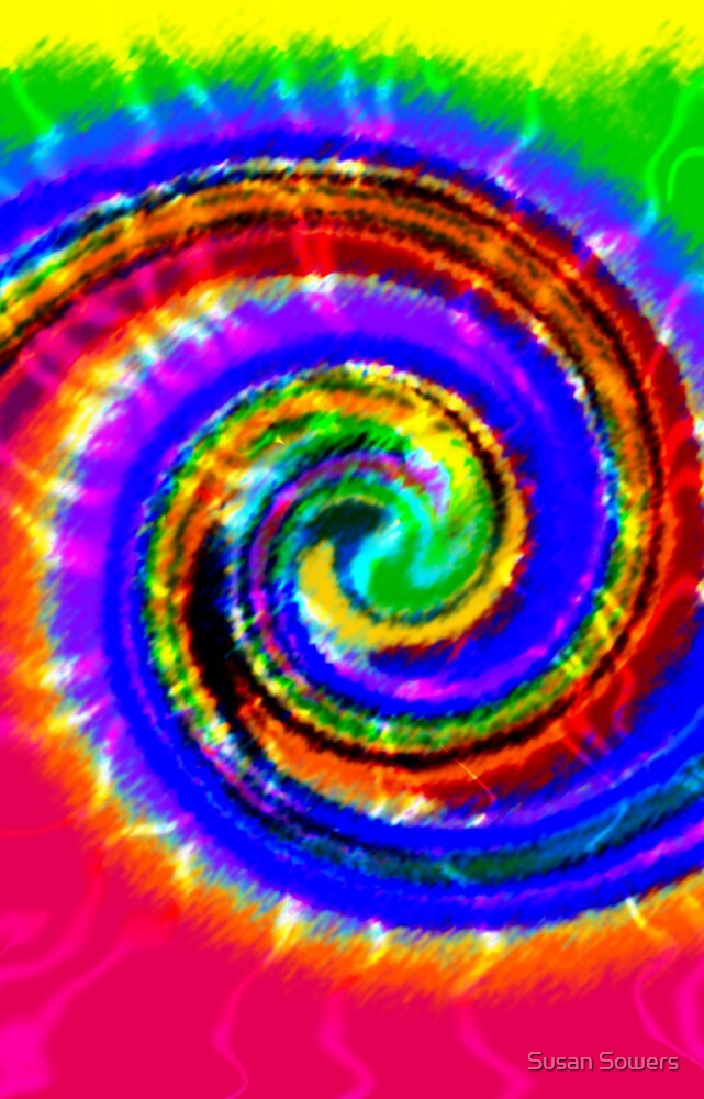 Tie Dye Swirls by Susan Sowers