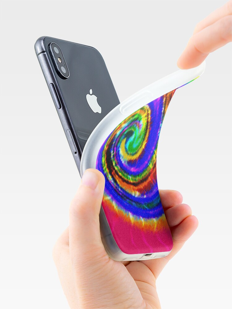 Alternate view of Tie Dye Swirls iPhone Case & Cover