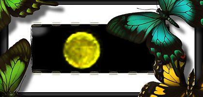 Golden Moon by Be2ru