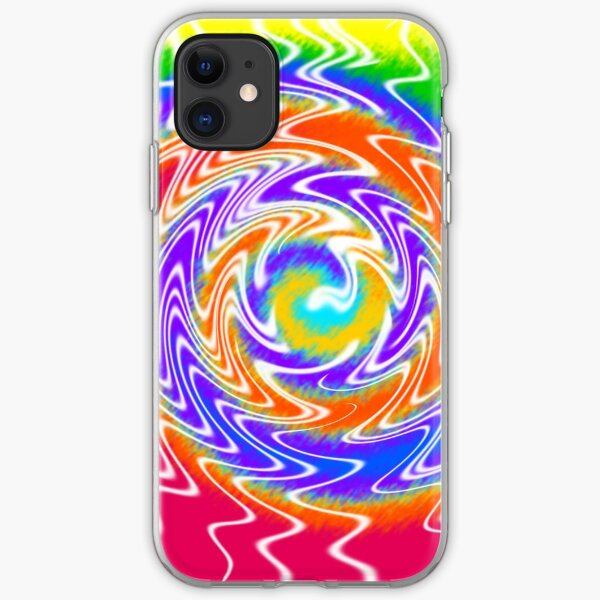 Tie Dye Swirls 2 iPhone Soft Case