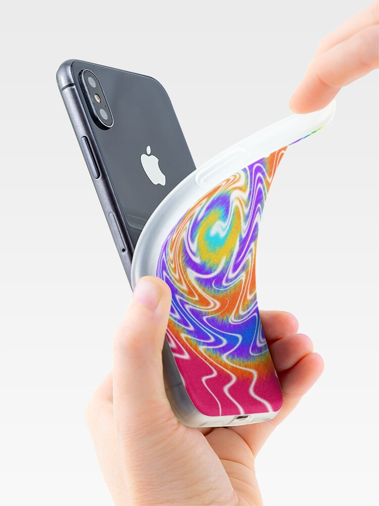 Alternate view of Tie Dye Swirls 2 iPhone Case & Cover