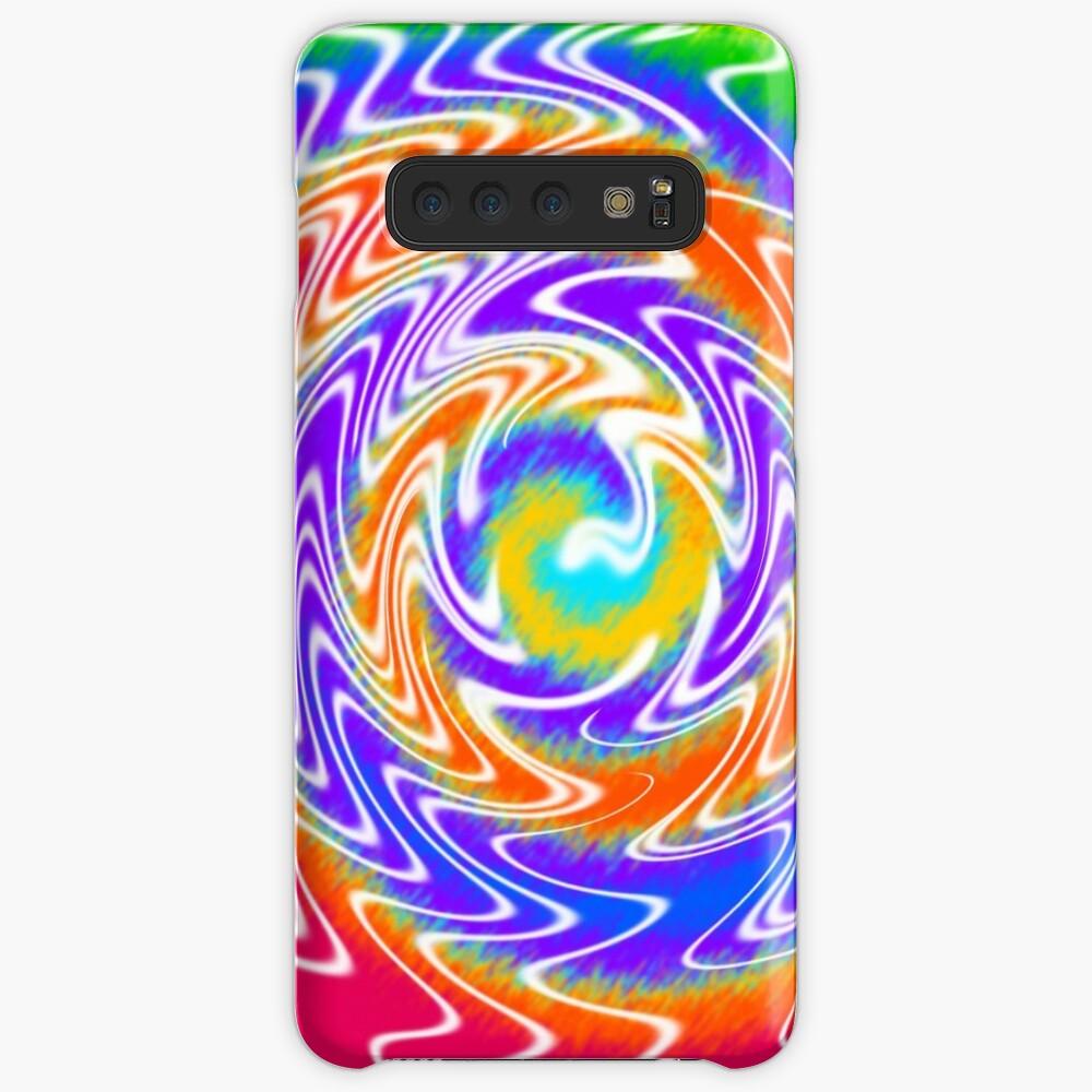 Tie Dye Swirls 2 Case & Skin for Samsung Galaxy
