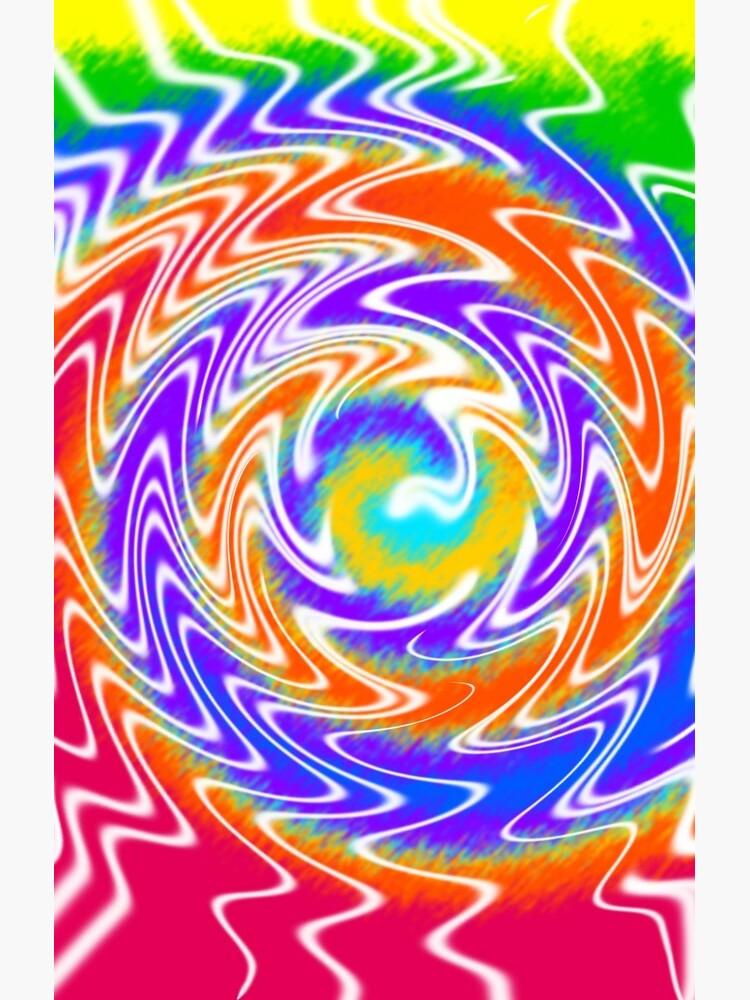 Tie Dye Swirls 2 by SSSowers