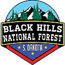 Black Hills National Forest South Dakota Hiking Camping Climbing Park 2 by MyHandmadeSigns