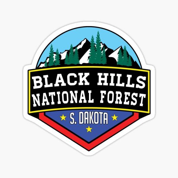 Black Hills National Forest South Dakota Hiking Camping Climbing Park 2 Sticker