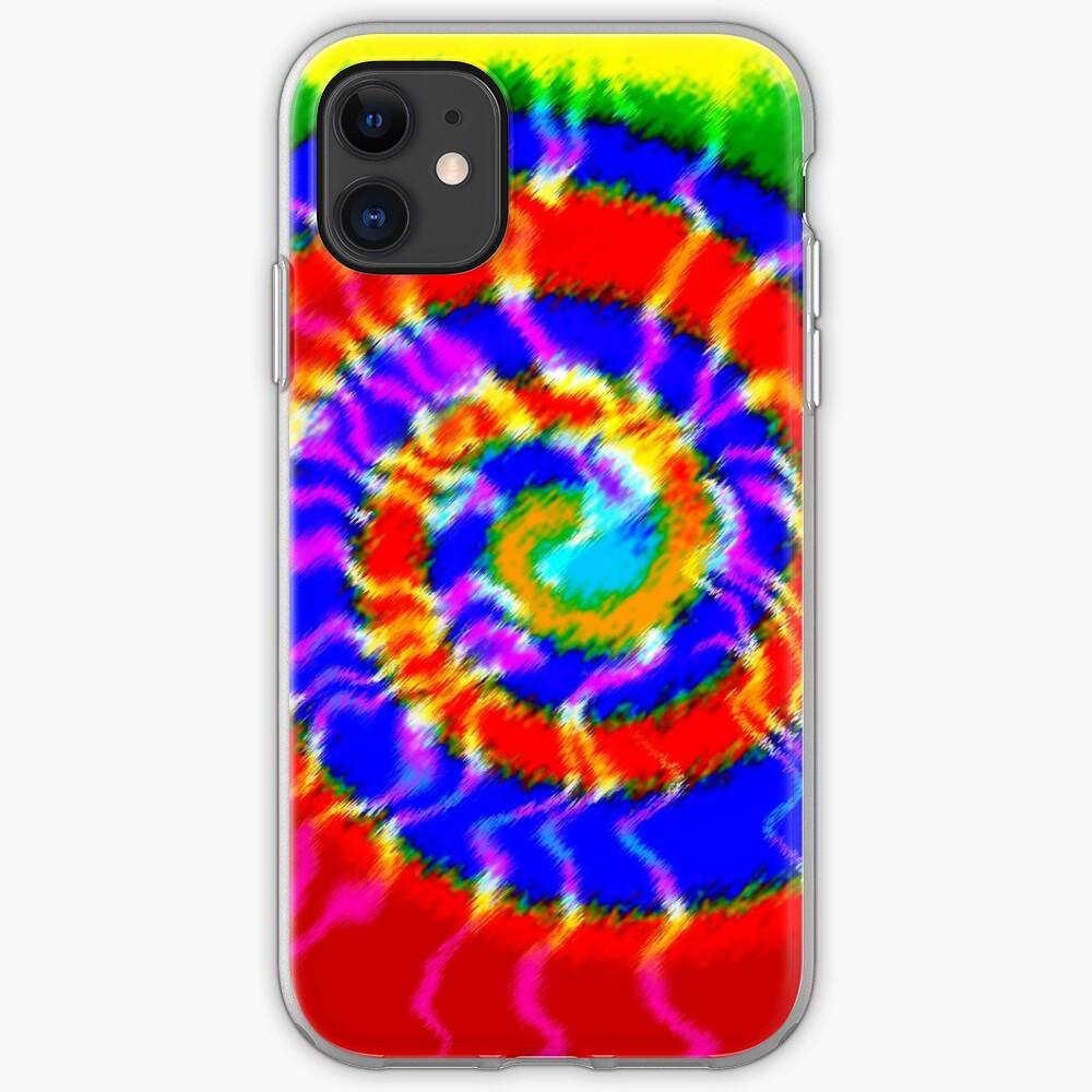 Tie Dye Swirls 3 iPhone Case & Cover