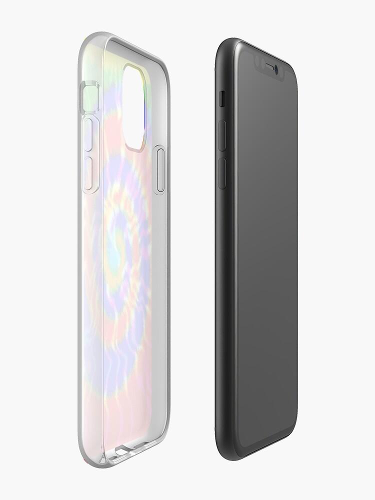 Alternate view of Tie Dye Swirls 3 iPhone Case & Cover
