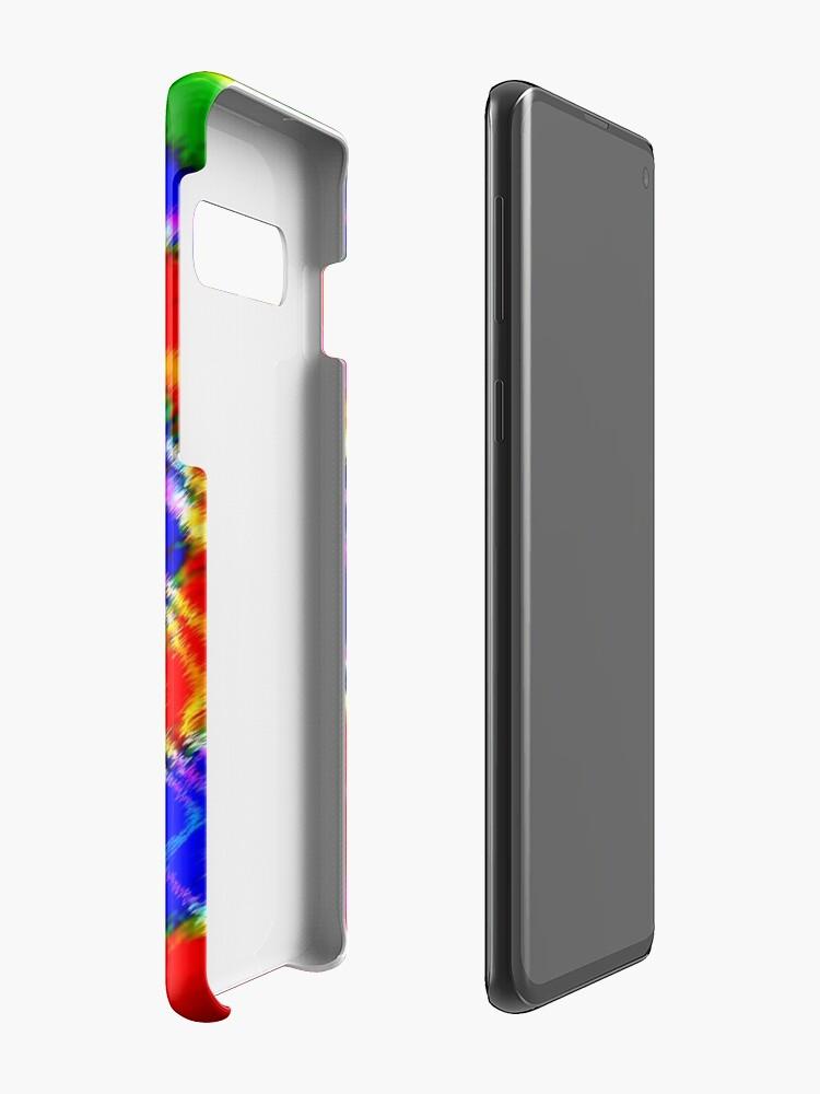 Alternate view of Tie Dye Swirls 3 Case & Skin for Samsung Galaxy