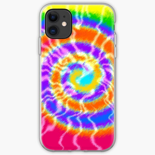 Tie Dye Swirls 4 iPhone Soft Case