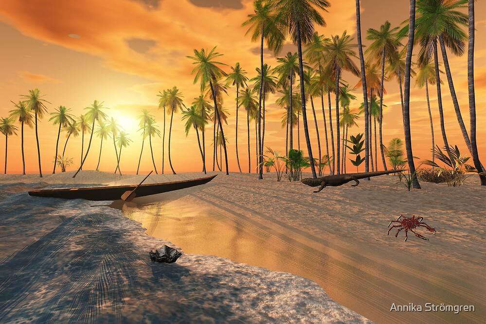 Paradise beach by Annika Strömgren