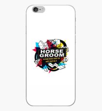 HORSE GROOM - NO BODY KNOWS iPhone Case