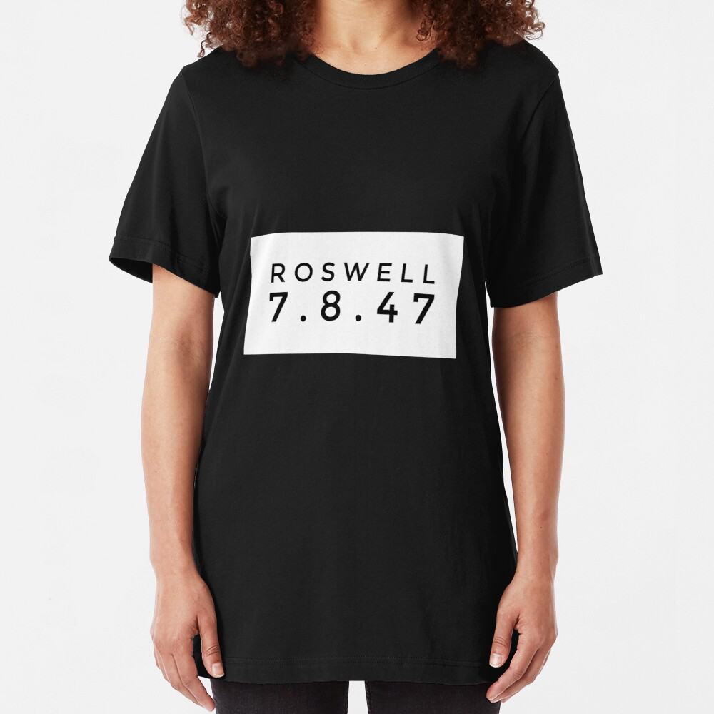Roswell 7 8 47 Slim Fit T-Shirt