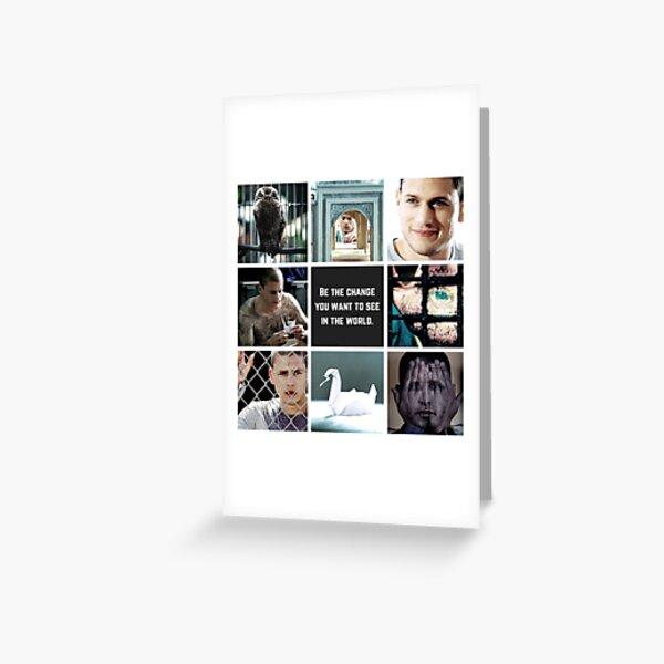 Aesthetic: Michael Scofield Greeting Card