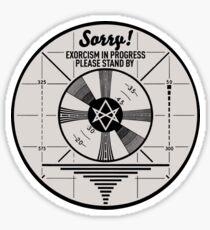 Exorcism Sticker