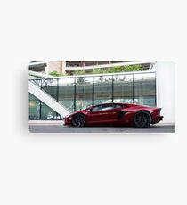 Lamborghini Aventador Canvas Print