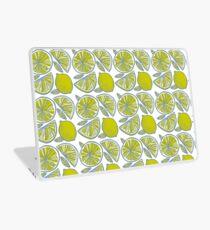 Pattern of fruit lime and orange. Summer Pattern Laptop Skin