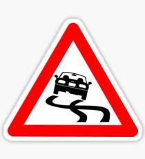 Warning MX-5 Drifting Ahead Sticker