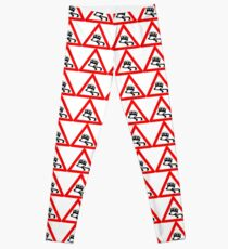 Warning MX-5 Drifting Ahead Leggings