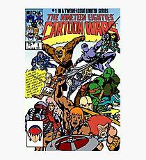 Cartoon Wars non-weathered Photographic Print