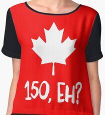 Canada 150, Eh? Chiffon Top