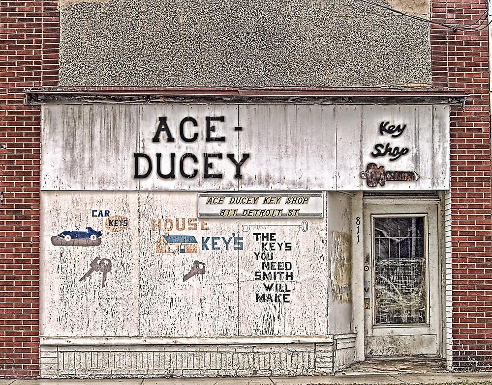 Ace Ducey Key Shop by Terry Doyle