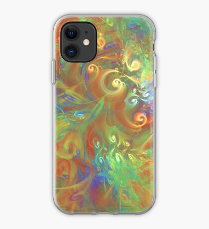 Fractal Flowers iPhone Case
