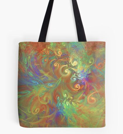 Fractal Flowers Tote Bag