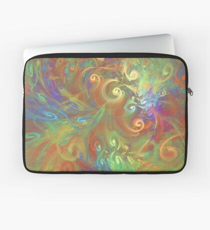 Fractal Flowers Laptop Sleeve