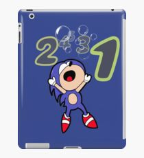 Sonic drowns!  iPad Case/Skin