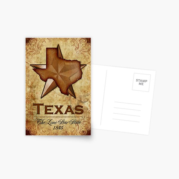 Texas Independence - The Lone Star State Postcard