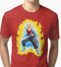Trunks Super Saiyan Rage Tri-blend T-Shirt