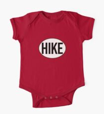 HIKE BLACK WHITE OVAL HIKING MOUNTAINS EXPLORE OUTDOORS NATURE Kids Clothes