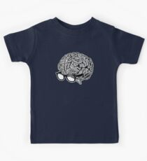 Brain with Glasses Kids Tee