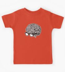 Brain with Glasses Kids Clothes