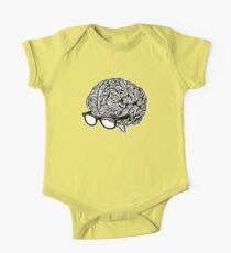 Brain with Glasses One Piece - Short Sleeve