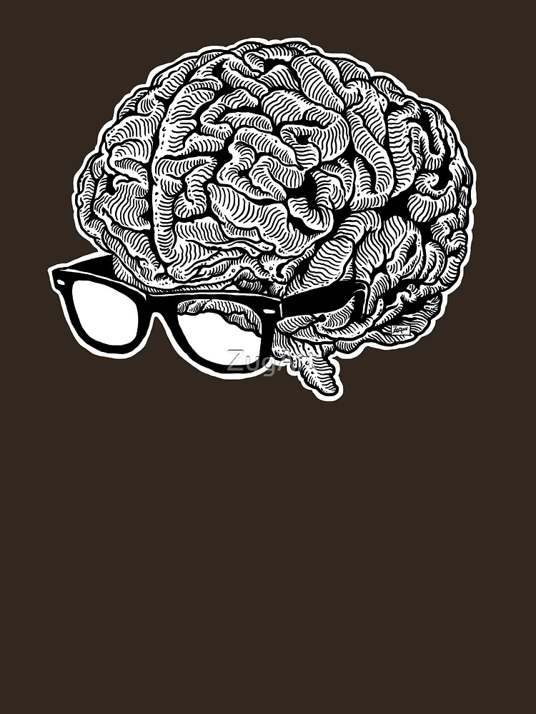 Brain with Glasses | Unisex T-Shirt