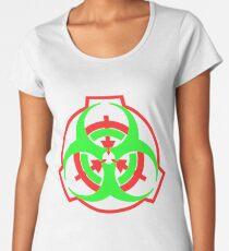 SCP Biohazard symbol Women's Premium T-Shirt