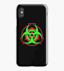 SCP Biohazard symbol iPhone Case/Skin