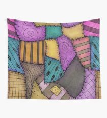 Tela decorativa Recortes de Patchwork