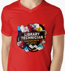 LIBRARY TECHNICIAN - NO BODY KNOWS T-Shirt