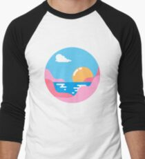 Our Sunset Men's Baseball ¾ T-Shirt