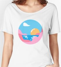 Our Sunset Women's Relaxed Fit T-Shirt