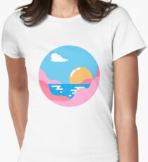 Our Sunset Womens Fitted T-Shirt