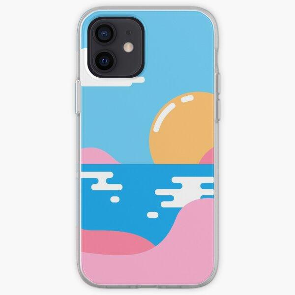 Notre coucher de soleil Coque souple iPhone