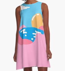 Our Sunset A-Line Dress